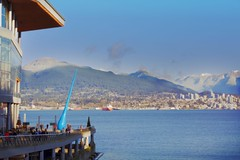 Beautiful Vancouver (yuanxizhou) Tags: tourist landscape vancity northvan skyline westcoast britishcolumbia snow winter mountainview mountain downtown view site attraction awesome architecture water ocean seashore coalharbor vancouver