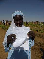 Zara Issa, member of FAO Dimitra Club, village of Banizoumbou, Niger (FAO of the UN) Tags: fao unfao dimitra radio gender rural