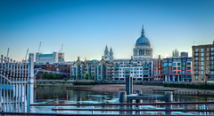Railings (georgeplakides) Tags: st pauls stpauls thames london railings riverfront