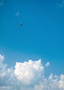 Soft landing (Kalev Lait photography) Tags: skydive sky clouds clearsky bluesky blue man parachute falling minimalistic