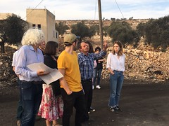 Yachad delegation in the West Bank