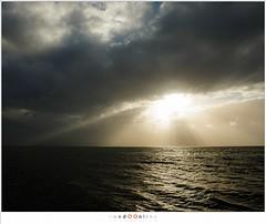 The fight between the sun and the clouds (nandOOnline) Tags: zuiderzee wind zon zonlicht ijsselmeer water sunlight clouds wolken meer natuur paardvanmarken storm landschap marken sun nholland nederland
