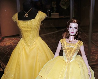 Belle and her dress.