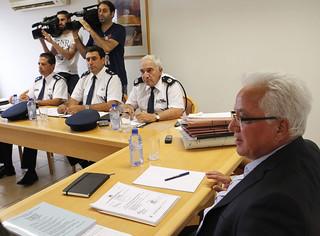 Συνάντηση με εκπροσώπους του Συνδέσμου Αστυνομίας Κύπρου