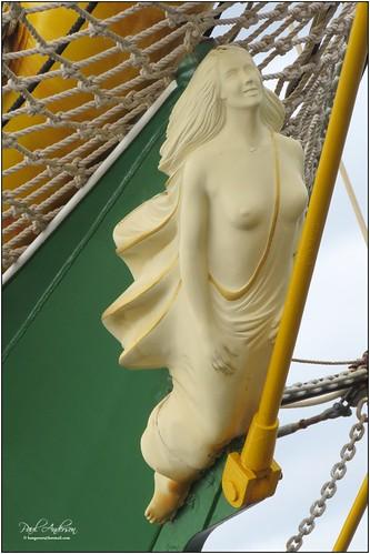 Figurehead, Tall Ships 2015, Belfast, Northern Ireland