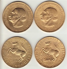 Inflation 1923 3 (ricoh_cd) Tags: 1923 inflation westfalen notgeld münzen