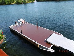 Pontoon Boat Deck