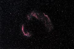 Veil Nebula (guillaume_lhoste) Tags: sky night canon stars veil space astro nebula astrophotography 7d astronomy nuit dentelle cygne dentelles cygnus deepsky veilnebula nébuleuse astrotrac astrometrydotnet:status=solved astronomik astrodon astrometrydotnet:id=nova1204889