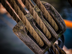 Boat rigging (Jim Nix / Nomadic Pursuits) Tags: travel copenhagen photography nyhavn boat europe ship olympus rope rigging mirrorless nomadicpursuits jimnix olympusomdem1