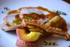 Dish 2 - Honey Glazed Pork with Fennel & Caramelised Apple