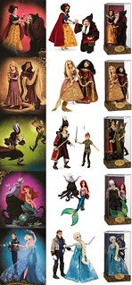 Disney Fairytale Designer Collection Doll Set-