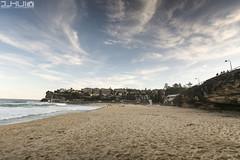 IMG_0911 (Joseph Hui (J_HUI)) Tags: ocean longexposure people cloud sun beach water bondi canon landscape sand rocks sydney 1740 6d tamarama jhui