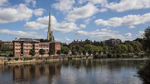 Worcester River Severn