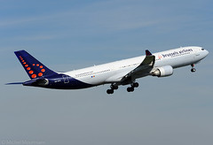 OO-SFO A330-300 Brussels Airlines (MM Aviation Photography) Tags: brussels airbus a330 bru ebbr a333 a330300 brusselsairlines oosfo