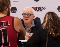 Malcolm McDowell (SpazLady) Tags: malcolmmcdowell aclockworkorange fanexpo fanexpo2015