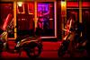 triskaidekaphobia (bostankorkulugu) Tags: pink light red netherlands amsterdam yellow prostitute motorbike 13 hooker redlightdistrict thirteen triskaidekaphobia