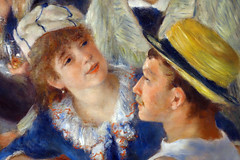 Renoir, Luncheon of the Boating Party, Angèle and Gustave Caillebotte