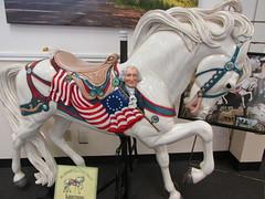 Lightning Albany Historic Carousel & Museum (Nancy D. Brown) Tags: horse oregon albany lightning carouselhorse albanyhistoriccarouselmuseum