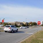 Q-lot entrance University Drive