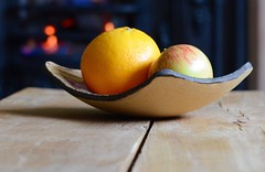 Winter is coming (davidheath01) Tags: photographer photograph picture house home table wood colours colour colors color fruit winter fire timber nikond5100 warm bowl orange nikon summer