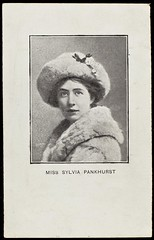 Photograph of Sylvia Pankhurst , c. 1910.