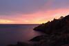 IMG_0005_three_craquelure40%layer2 (daveg1717) Tags: sunrise stjohns fortamherst thenarrows photoshopfilters stjohnsharbour newfoundlandlabrador nauticaltwilight fortamherstlighthouse fortamherstgunshelters