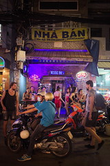 Pho Tay (Ho Chi Minh City, Vietnam) (Mathieu Arnaudet) Tags: street bar night cafe vietnam tay pho prostitutes hochiminh westerners