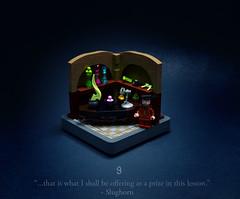 09 - The Half-Blood Prince (Melan-E) Tags: harry potter half blood prince magical journey lego afol torolug bricknerd magic hogwarts potions felix felicis slughorn