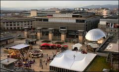 Millennium Square From Bristol Eye (Canis Major) Tags: bristoleye bigwheel millenniumsquare planetarium bristol christmasmarket 500 1000 2000