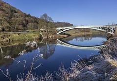 Bigsweir Bridge, Monmouthshire, UK (Christopher Smith1) Tags: bigsweir bridge monmouth monmouthshire uk road river wye gloucestershire llandogo horizontal landscape reflection bank nature recreation leisure tranquil countryside rural