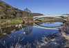 Bigsweir Bridge, Monmouthshire, UK (Christopher Smith1) Tags: bigsweir bridge monmouth monmouthshire uk road river wye gloucestershire llandogo horizontal landscape reflection bank nature recreation leisure tranquil countryside rural
