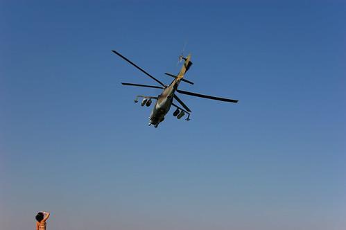 Russischer Kampfhubschrauber