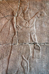 Another winged creature (1) (Nick in exsilio) Tags: assyria antiquity assyrian ashur religion pergamonmuseum berlin archaeology vorderasiatisches museum