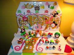 Opened advent calendar (flores272) Tags: tsumtsum disney adventcalendar toy toys mickey donald pluto eeor goofy lady bambi daisy mini gus ariel figaro disneys elsa tiger