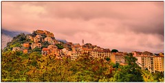 Corte citadelle HDR (arno18☮) Tags: corse corte hdr france citadelle village contactgroups wow tree light clouds