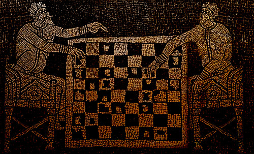 "Petteia - Ludus Latrunculorum  / Iconografía de las civilizaciones helenolatinas • <a style=""font-size:0.8em;"" href=""http://www.flickr.com/photos/30735181@N00/31678482624/"" target=""_blank"">View on Flickr</a>"