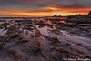 Corona Del Mar (TimGuzmanPhotography) Tags: coronadelmar california coast socal southerncalifornia beach sunset rocks timguzman photography orangecounty newpotbeach ocean clouds outdoor water landscape shore sand seaside sea winter orange catalina island low tide canon reflection