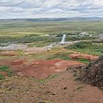 Iceland ~ Landmannalaugar Route ~  Ultramarathon is held on the route each July ~  Geyser thumbnail