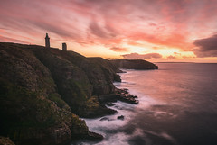 Cap Frehel (Francois Le Rumeur) Tags: cap freel bretagne côtes darmor france ocean mer sunset rochers rocks pose longue exposure long sea océan cloud nuage evening lights 4k hd nikon d7100