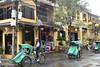 _DSC0640 (lnewman333) Tags: hoian centralvietnam vietnam sea southeastasia asia oldquarter lantern street bike rickshaw bicycle architecture