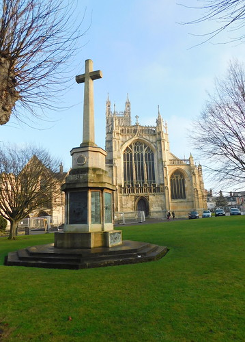 Memorial & Cathedral.