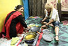 The Cooking Class (peterkelly) Tags: digital canon 6d india asia orchha cookingclass womenexpression women woman smiling smile oil hotoil rolling dough fryingoil blue cook chef