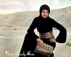 عبايات شرقية فاخرة باللون الأسود (Arab.Lady) Tags: عبايات شرقية فاخرة باللون الأسود