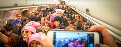 2017.01.20 Alaska Air Flight 6 in Pink LAX-DCA 00046