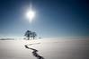 Schwäbische Alb im Winter (andreasbucher) Tags: winter sonne blau baum schnee schwäbische alb bad urach blaubeuren