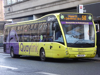 Go North East 8333 (NK11 HJV)