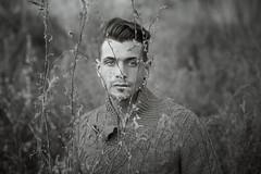 Francesco (francesco ercolano) Tags: man male portrait emotive art nature face look vogue