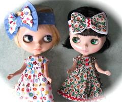 BaD: 1st Feb 2017 - Floral (Calendar girl 48 / grannygreen) Tags: blythedolls twiggy lizzie badfeb2017 floral dresses