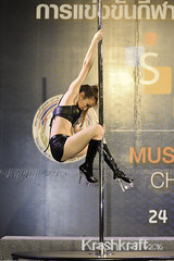 Pole Dancing (krashkraft) Tags: 2015 allrightsreserved bangkok beautiful beauty bodybuilding dancer gorgeous krashkraft muscle musclephysiquechallenge physique poledancing pretty seaconbangkae sexy thailand krungthepmahanakhon th