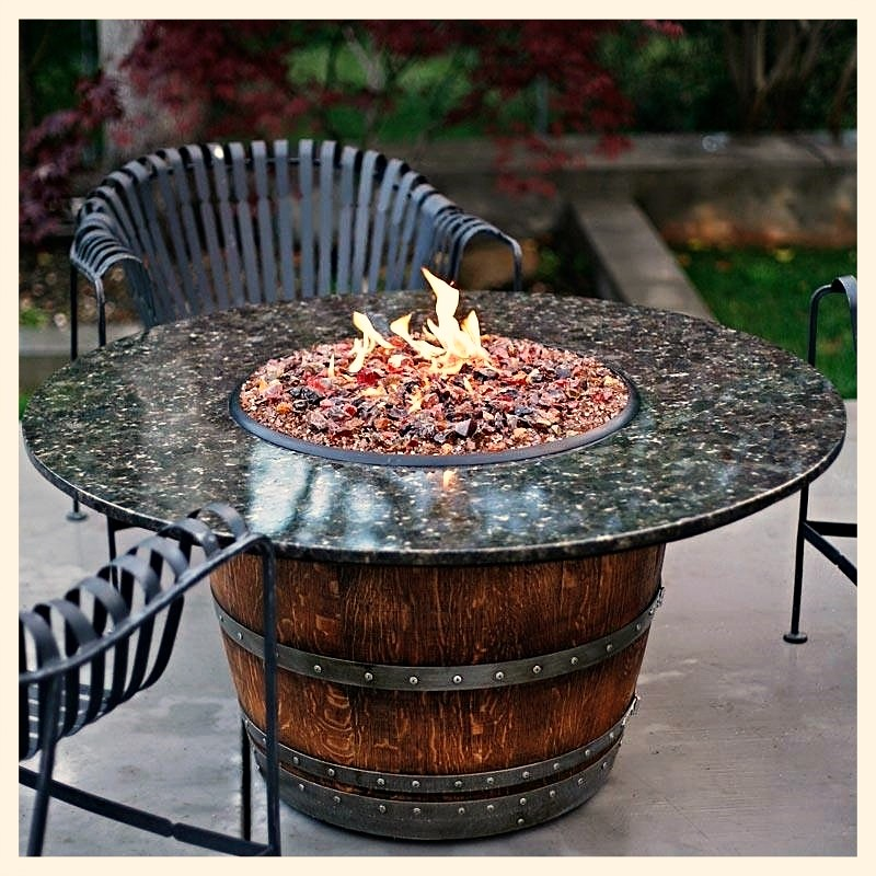 Vin de Flame Reserve with granite top